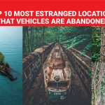Top 10 most estranged locations that vehicles are abandoned