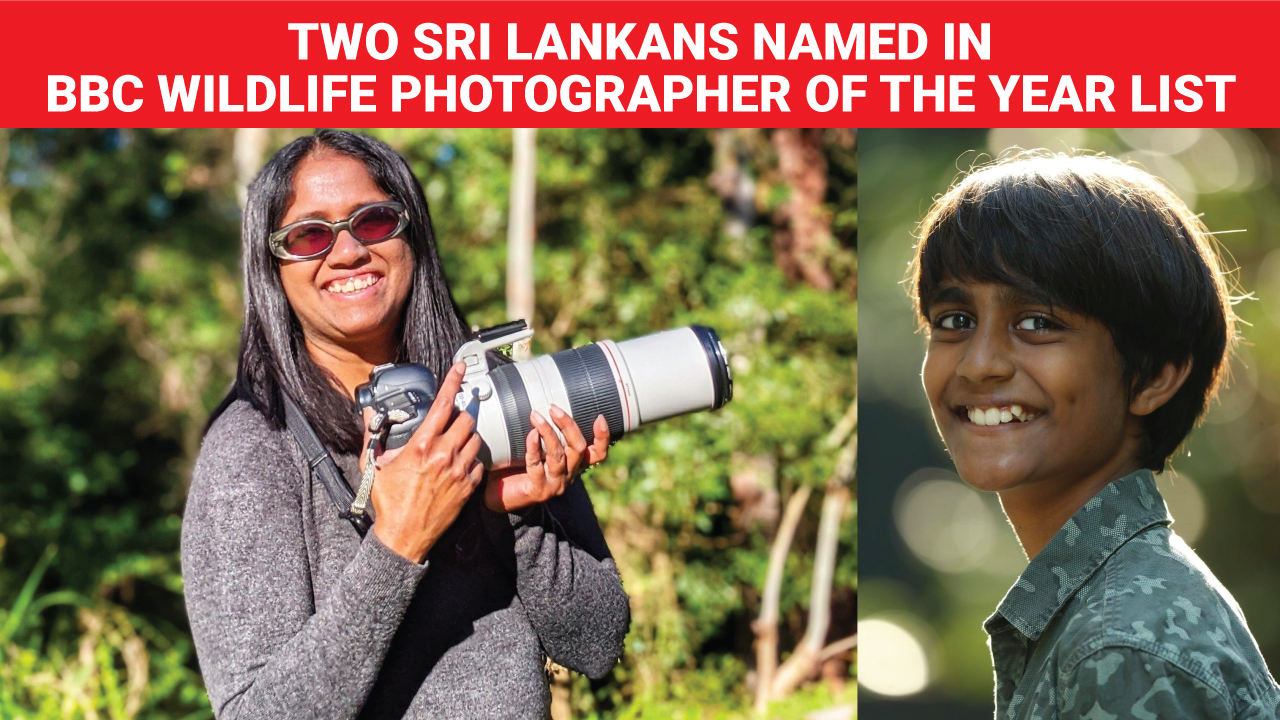 Two Sri Lankans named in BBC Wildlife Photographer of the Year list